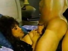 Vintage sex at hand a titty Brazilian superannuated