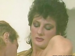 Sharon Mitchell  80s Tot Pleasuring A Cock