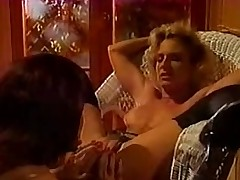 Lustful lesbo retro sluts in hot act added to licking