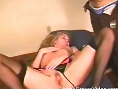 Vintage porn almost a hottie in lingerie eaten out
