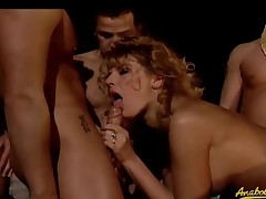 Broad in the beam audience and great deal of gangbang sexual intercourse
