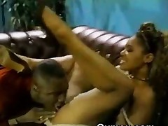 Wide-ranging Titty Darksome Beauty Plow Slut Afro Pussy Licked