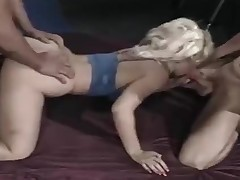 Blonde craves cum outlander two cocks