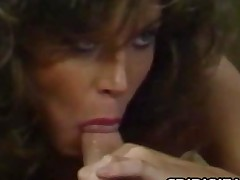 Tracey Adams  Retro Pornstar Kitchen Oral job