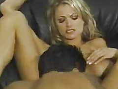 Plunged into her twat with his face hole