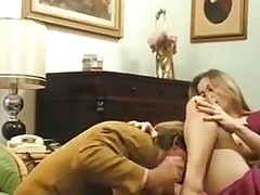 French babe fucked in a XXX spunk flow vintage movie
