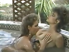 Erica Boyer & Christy Canyon in make an issue of Morose Mouthwash