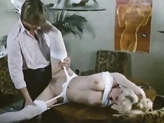 Sultry retro essayist drilled back video