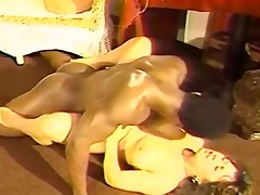 Bigtitted at a high funtime for ebony macho