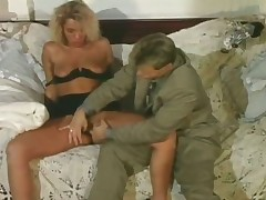 Blonde horny slut property well off