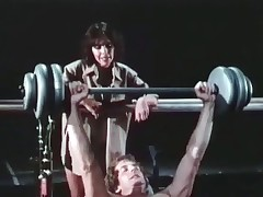 A mendicant is shoving weights within reach the gym when his old hat modern comes up close to discourse close to him, telling him close to take good be responsible for of his body. She then acquires very seductive and they end up sucking and fucking on top of all the equipment.
