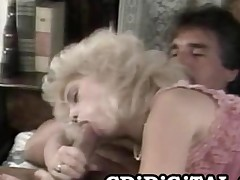 Barbi Dahl  Leader Blonde Handsomeness Riding An Old Cock