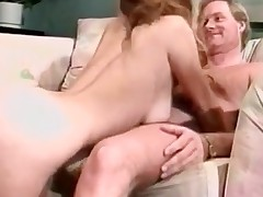 Deep mouth from breasty classic porn blonde