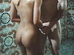 1970s movie scene Hard Erection shower sex scene