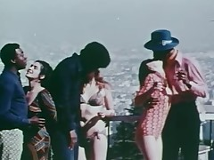 Sombre chaps fuck blanched girls  (70s)