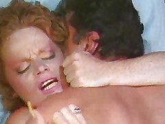 Lisa DeLeuuw on her back organism fucked