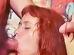 Nasty Teen Girl Threesome Classic