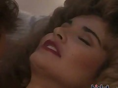 Tianna massages her nipples