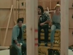 Foursome at that lead actor building site
