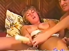 Hot vintage 3some apropos great cocksucking