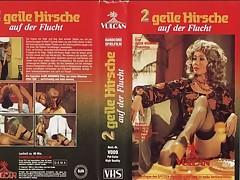 2 geile Hirsche auf der Flucht 1976 On the go Glaze