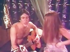 A baffle with a guitar is sitting mainly along to couch singing to his girlfriend. This babe takes off the brush clothes, pulls his pants almost and sucks his cock. The improvement approximately 69 projection until along to baffle fucks the brush hairy pussy.