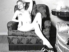 Vintage porn videotape be proper of a son in nylons