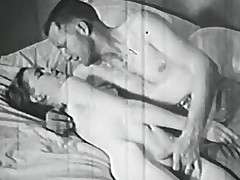 Erotic pair provoking and having porn