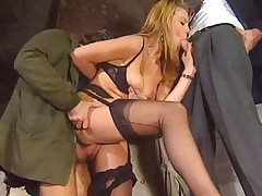 ITALIAN PORN anal flimsy honeys threesome vintage