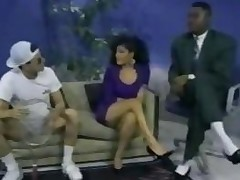 Interracial 3some With A Latin chick Classic