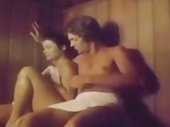2 Chicks In A Threeway At A Sauna Classic